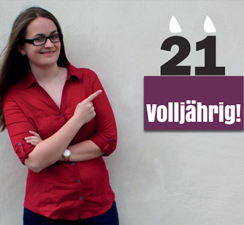 Evelin Pichler Kabarett Volljährig